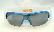 "Gymboree Boys Sunglasses ""Swim Shop"" Blue Metallic Sport 4 5 6 7 8 Summer NEW"