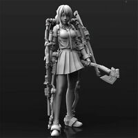 1/24 Mechanical girl Resin Kits Unpainted Figure Model GK Unassembled