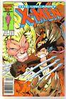 UNCANNY X-MEN #213 Wolverine Battles! Marvel Comic Book ~ VF