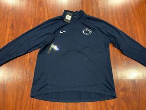 Nike Women's Penn State PSU Football 1/4 Zip Pullover Jacket XXL 2XL Slim Fit