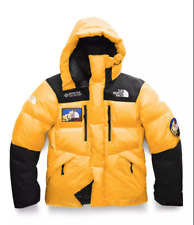 NEW THE NORTH FACE GORE TEX HIMALAYAN SEVEN SUMMIT SERIES YELLOW DOWN JACKET M