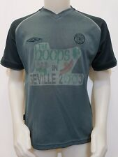 MAGLIA SHIRT CALCIO CELTIC FOOTBALL CLUB UMBRO THE HOOPS IN SEVILLE 2003 S628