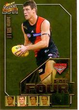 2011 Select AFL Champions Fab Four Gold Card FFG18 David Hille (Essendon)