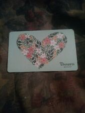 Panera * Used Collectible Gift Card NO VALUE * SV1801041