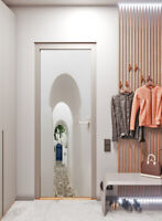3D Greek Porch Self-adhesive Living Room Door Mural Wallpaper Wall Sticker Decor