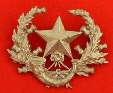 British Army. Cameronians – Scottish Rifles Genuine Victorian Cap Badge