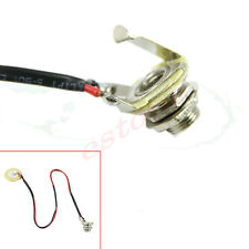 New Cigar Box Guitar Parts Pre-Wired Piezo Amplifier Jack Acoustic Pickup