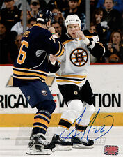 Shawn Thornton Boston Bruins Autographed signed 8x10 ready to fight Peters Photo