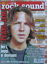 ROCK SOUND 29 2000 Pearl Jam Green Day Korn Maxim Him Coldplay Richard Ashcroft