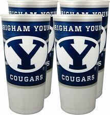 BYU Cougars 24 oz. Souvenir Cups (4 per set)