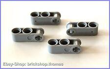 Lego Technic 4 x Gelenkverbinder grau - 42003 - Axle Light Bluish Gray - NEU/NEW