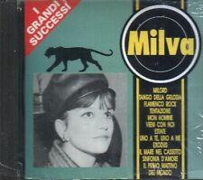 MILVA I GRANDI SUCCESSI CD RARO 1993 TIMBRO SIAE NO BARCODE SEALED