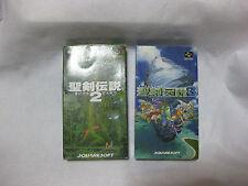 Lot 2 Seiken Densetsu 2&3 Secret of Mana Super Famicom Nintendo Japan
