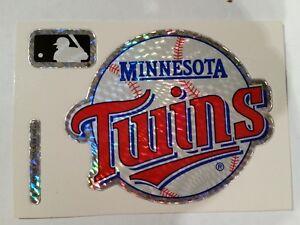Minnesota Twins--Baseball--NEW--Vintage (1994) Prismatic Vending Machine Sticker