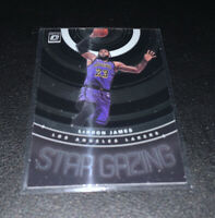 2019-20 Donruss Optic Star Gazing #9 LeBron James Lakers