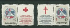 YUGOSLAVIA - RED CROSS - year 1987 - with central labels