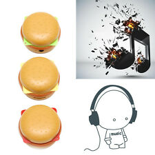 Hamburger USB Mini Music MP3 Player Support 32GB Micro TF SD Card + Earphone