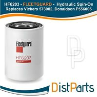 HF6203 Fleetguard Hydraulic Spin-On, Replaces Vickers 573082, Donaldson P556005