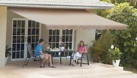 SunSetter Motorized Retractable Awning, 18 x 10 Deck & Patio Awning by SunSetter