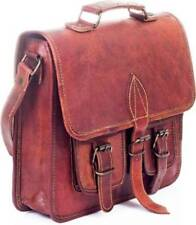 New Men's Hand Vintage Leather Messenger Briefcase Satchel Shoulder Laptop Bag