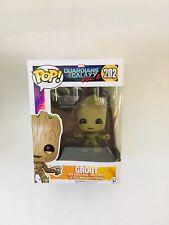Funko POP! #202 Guardians of The Galaxy V.2 Baby Groot Bobble Head Vinyl Figure