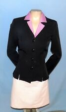 Simply Awesome & Chic My Michelle Black Blazer/Jacket Size 3 / 4 Career