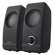 Trust 2.0 REMO 16W USB Powered Speaker set for PC Computer MAC-Book Pro Laptop