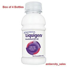Nutricia Liquigen MCT Emulsified Oil (Box of 4 8.5oz Bottles) ~ Made in Ireland