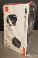 NEW JBL Tune 120TWS Black Truly Wireless In-Ear Headphones, Hands-free calls