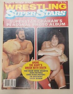 Sports Review Series Wrestling SuperStars Spring 1980 Andre The Giant