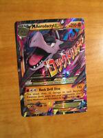 PL MEGA Pokemon M AERODACTYL EX Card BLACK STAR PROMO Set XY98 Rare Box PLAYED