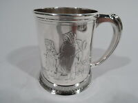 Whiting Baby Cup - 362A - Antique Christening Mug - American Sterling Silver