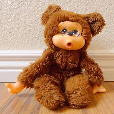 "Vintage Mod Togs Toys Rubber Face Teddy Bear or Monkey 10"" Korea Sucks Thumb"