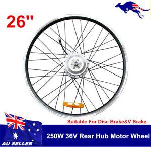 2021 36V250W rear wheel electric bike conversion wheel rear hub motor disc brake