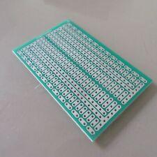 5stk pcb 4.5x7cm 2/3er Streifenraster Veroboard Lochraster Platine Leiterplatte