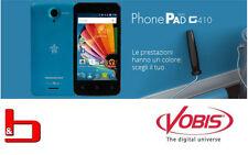 Mediacom SmartPhone Dual Sim PhonePad G410 COLORE BLUE M-PPBG410 - SPED. TRAC