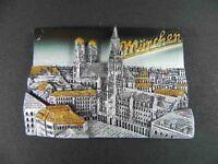 Magnet München Munich Marienplatz Rathaus,Polyresin,Souvenir Germany,NEU