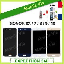 VITRE TACTILE +ECRAN LCD PRET-A-MONTER POUR HUAWEI HONOR 6X/7/8X/9/10/20 + COLLE