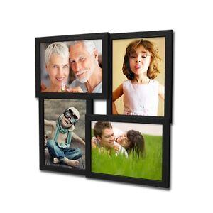 405 Bilderrahmen für 4 Bilder 10x15 cm Galerie 3D Collage Set Foto Bild Rahmen