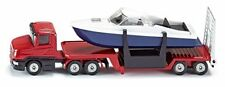 Low Loader W/Speed Boat - Die-Cast Vehicle - Siku 1613