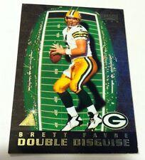 1996 Pinnacle DOUBLE DISGUISE Insert Card #16 BRETT FAVRE - EMMITT SMITH