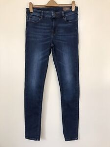 Asos Jeans Straight Faded Dark Denim w30 L34