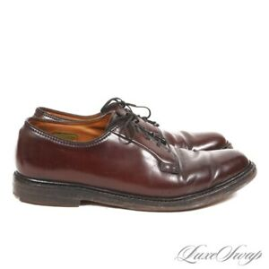#1 MENSWEAR Florsheim Imperial 97624 #8 V-Cleat Shell Cordovan PTB Shoes 9.5 NR
