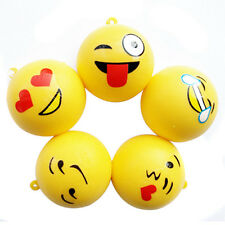4 cm Emoji Emoticon Espressione Portachiavi Cellulare Cinghie Peluche Squishy