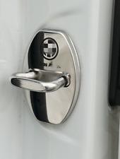 Edelstahl Autotürschloss Schutzabdeckung für Volkswagen VW Passat Golf