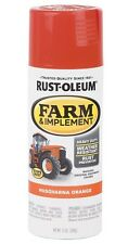 """Husqvarna Orange"" Rust-Oleum Specialty Farm & Implement Spray Paint!"