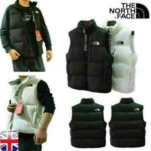 The North Face 700 Mens Down Gilet Lightweight Warm Womens Vest Jackets UK