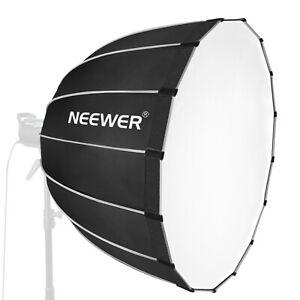 Neewer Sechzehneck Softbox 90 Zentimeter mit grauem Rand und Bowens Montage