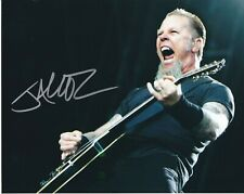James Hetfield Metallica autographed 8x10 photo RP