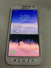 New listing Samsung Galaxy S6 Active Sm-G890A White Smartphone - As-Is (Il)